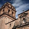 Santo Domingo was built over an Inca Temple.