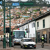 Cuzco is expanding up hillsides.