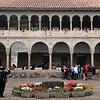 Catholic cloister surrounds Inca altar
