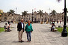 Judi with our Lima guide, Cecil Hernandez