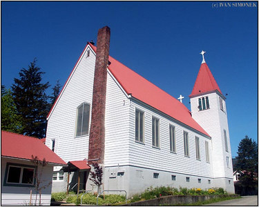 """LUTHERAN CHURCH"", Petersburg, Alaska, USA."