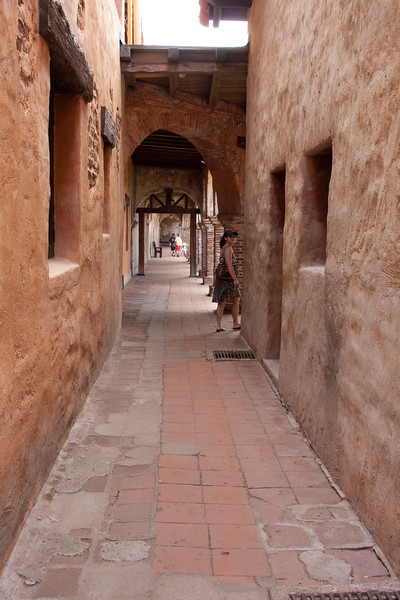 Corridor to the courtyard
