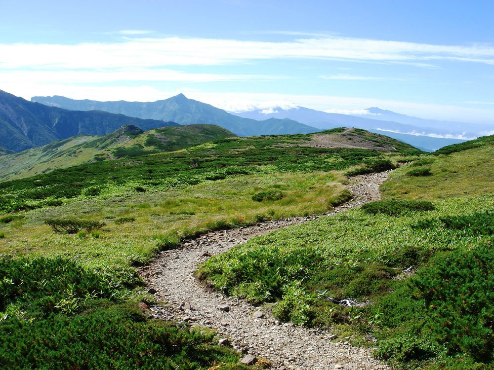 Hiking in Japan<br /> Every step, each new pathway<br /> Brings new surprises<br /> <br /> Bonni Lee  West Japan Explorer November 2008