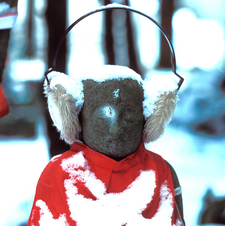 Jizo guiding souls<br /> To world of nothingness<br /> And eternal happiness<br /> <br /> Juliana Post<br /> Early Spring in the Heart of Japan  2004