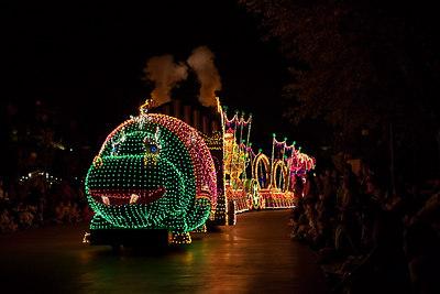 Disneyland - Electric Light Parade - 2006