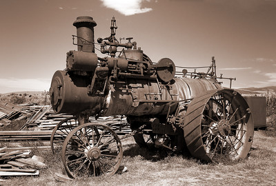 Montana USA - Old Machinery
