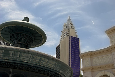 Fountains and Tall Buildings - Las Vegas 2006
