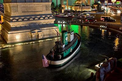 Tug Boats outside of New York-New York Las Vegas 2006