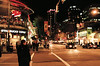 Robson Street, Vancouver, BC.
