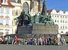 Vast Art Nouveau monument to Jan Hus, 1915.