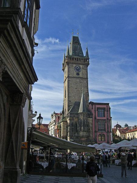 Clocktower at 12:50 PM.