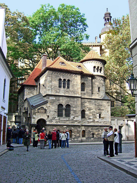 Chevra Kadisha, the Prague Jewish Burial Society.