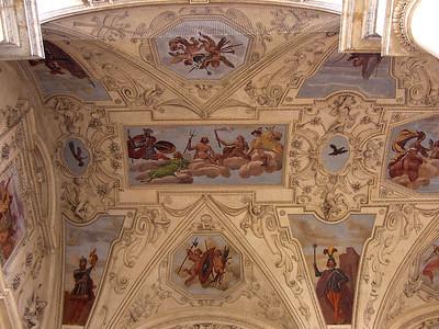 Ceiling at Wallenstein Gardens.