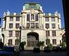 Nova Radnice, west facade of new town hall from Husova St. Location 2 on satellite photo.