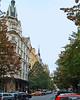 Parizska St. High end shopping, heading into the Jewish Quarter. Location 7 on satellite photo.