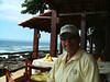 Tony at restaurant, Puerto Vallarta