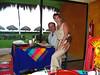 Tony and Ann at restaurant at Dreams Resort, PVR