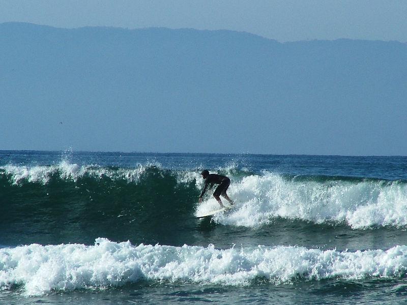 surfing in Pinta Mita, Puerto Vallarta