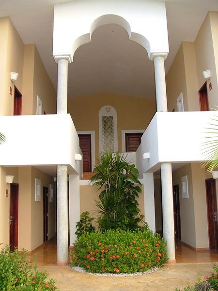 Melia Caribe Tropical, Room enterance.