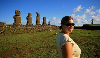 Nic @ Ahu Vai Uri. Paaseiland (Rapa Nui), Chili.