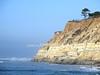 Pacific Ocean  and cliffs Near San Clemente, California