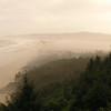 Foggy morning, looking towards Cape Lookout