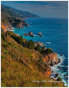Big Sur coastline. Most of it is very steep!