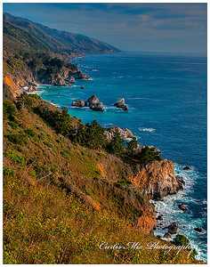Big Sur coastline. Most of it is very steep!