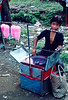 Cotton candy man, in case there were not enough sweets for you at the ritual