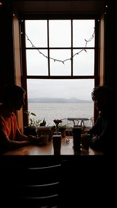 Coffee Girls on the Columbia in Astoria,OR