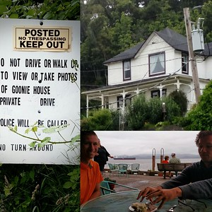 """Goonie House"", returning from Coffee Girls in Astoria, OR"
