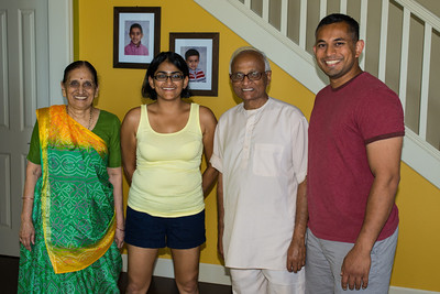 Ba, Bhumisha, Dada, and me