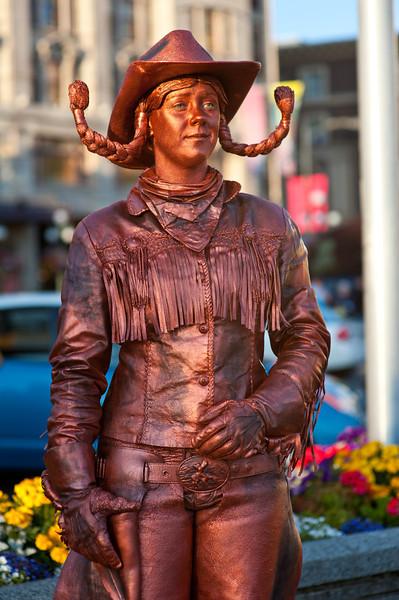 """""""Copper Cowgirl"""" Victoria Island BC"""