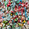 The gum wall at Pike's Place