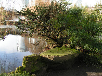 The design of the Garden is based on the harmony of four main elements: rock, water, plants, and architecture. Together, these four elements combine to create an experience of perfect balance -- yin and yang. http://www.vancouverchinesegarden.com/