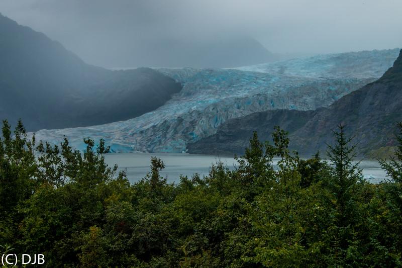 Mendenhall Glacier, Juneau, AK.
