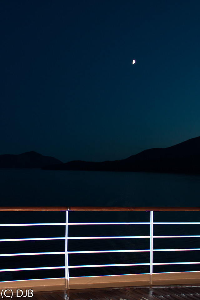 Alaskan Inside Passage from MS Noordam