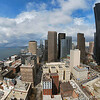Downtown Seattle<br /> North view from the Smith building