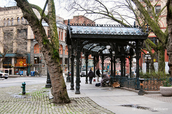 Pergola - Pioneer Square