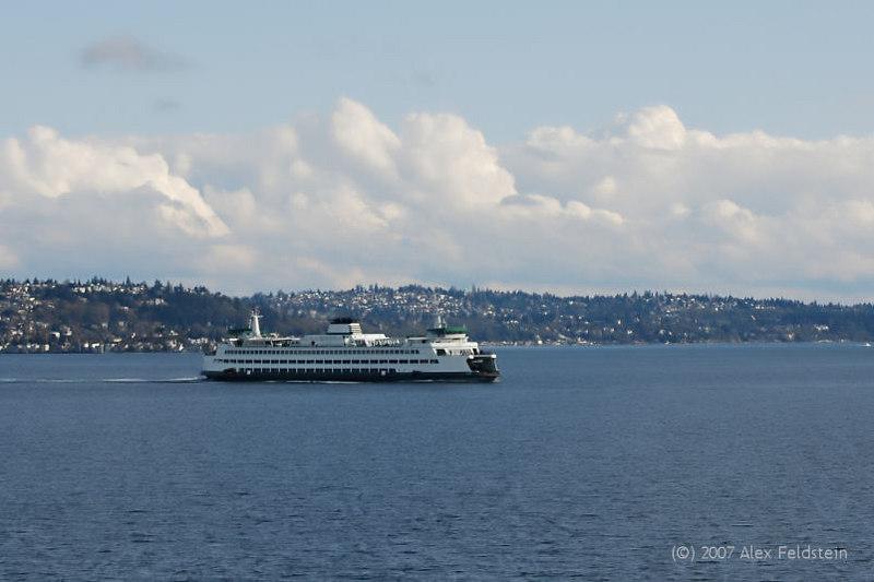 Seattle-Bremerton ferry