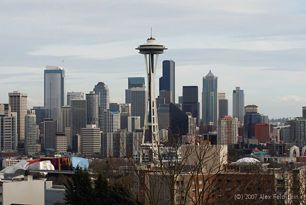 Seattle skyline, from Kerry Park.