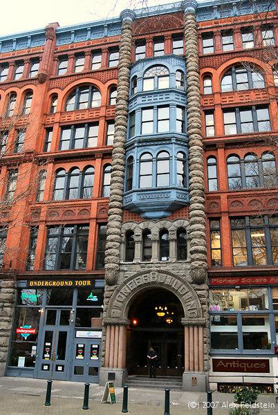 Pioneer Building - Pioneer Square