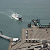 Seattle--Bainbridge ferry - view from the Smith building