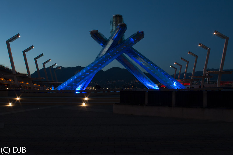 Olympic Cauldron, Vancouver, BC.