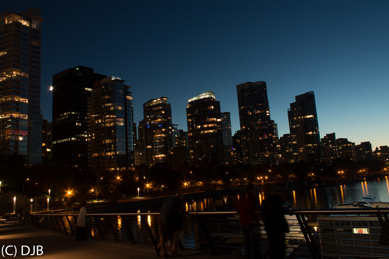 Coal Harbour, Vancouver, BC.