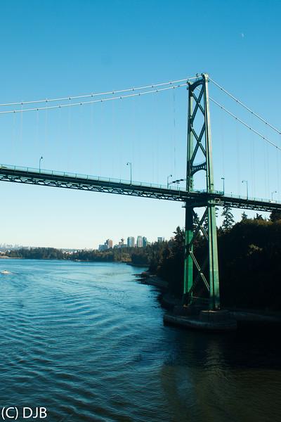 Lions Gate Bridge, Vancouver, BC.