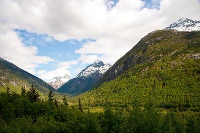 White Pass railway Skagway, Alaska