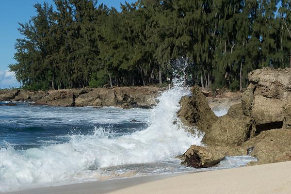 Rock climbing wave