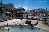 Model Released, The Springs Resort, Natural Hot Springs in Pagosa Springs, Colorado, USA, North America