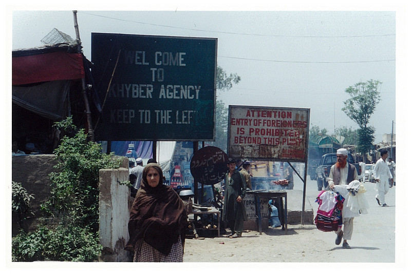 Entrance to Khyber Pass.
